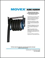 Movex Hose Reel System for Extracting Vehicle Exhaust